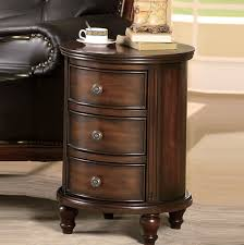 incredible ideas round end tables with drawers side table drawer home design espresso