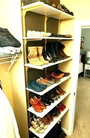 closet shoe rack built in closet shoe organizer ideas storage rack plans wooden shelves closet shoe closet shoe rack built