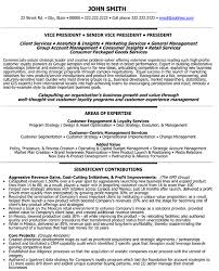 A resume template for a Senior Vice President - Loyalty. You can download  it and