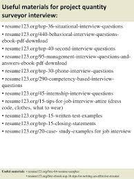 Cover Letter Example For Quantity Surveyor Lezincdc Com