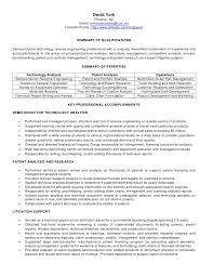 Example Resume For Operations Research Analyst - Dogging #066B76E90Ab2