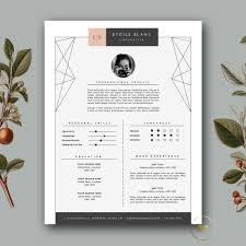 Modern Resume Template Cover Letter Template For Word And
