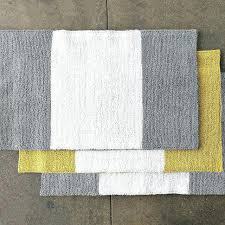 yellow bath rugs red and gray bathroom rugs cool yellow and gray bath mat grey and