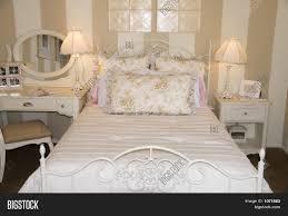 Ladies Bedroom Young Ladies Bedroom Design Stock Photo Stock Images Bigstock