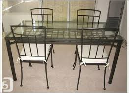 glass dining table ikea