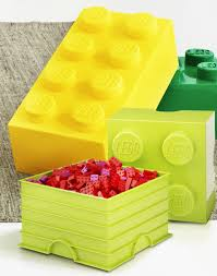 Lego Bedroom Accessories Furniture Creative Yellow Woman Head Lego Storage Cube As Toy