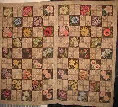 view large image fl al squares vintage hooked rug