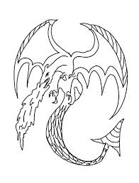 Flying Dragon Spits Fire Coloring Pages 1435 Flying Dragon Coloring