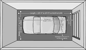 Carports  Double Garage Door Opening Size Standard Garage Height Size Of A 2 Car Garage