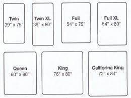 bed sizes comparison chart Dolapmagnetbandco