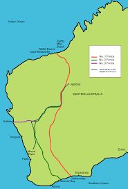 explain how the setting in the film rabbit proof fence directed  map of the actual rabbit proof fence showing the trip from moore river to jigalong