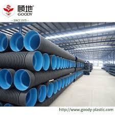china large diameter pe hdpe double wall corrugated pipe for road highway airport wharf water discharge drainage system china hdpe double wall corrugated