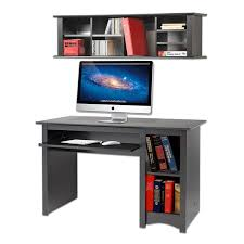 broadway black wall mounted desk hutch free today com 10469154