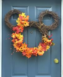the mickey mouse fall wreath