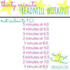 30 minute treadmill workout 2
