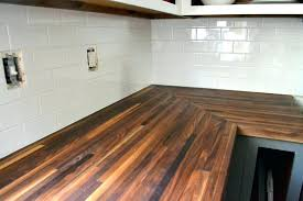 how to maintain butcher block chopping countertop