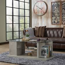 modern industrial design furniture. Furniture Of America Pilar Modern Industrial Style Glass Top Coffee Table - Free Shipping Today Overstock 21491651 Design