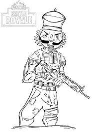 It develops fine motor skills, thinking, and fantasy. Fortnite Battle Royale Crackshot Fortnite Battle Royale Kids Coloring Pages