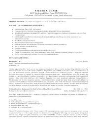 Employment Attorney Sample Resume