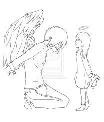Chained Fallen Angel Coloring Pages Coloring Pages Download
