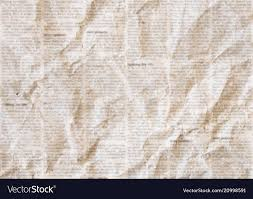 Newsprint Texture Background Old Crumpled Newspaper Texture Background