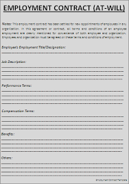 Best Photos Of Employment Terms And Conditions Template - Sample ...