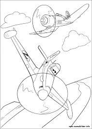 Kleurplaat Planes Planes 2 Immer Im Einsatz Malvorlagen