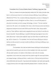 transatlantic slave trade and modern human trafficking comparison  transatlantic slave trade and modern human trafficking comparison essay human trafficking sexual slavery