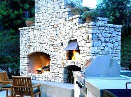 outdoor fireplace with pizza oven plans smoker combo combination image result for