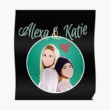 Katie gets to know his future boyfriend aiden at wired. Alexa And Katie Wall Art Redbubble