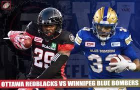 Livestream Ppv Cfl Winnipeg Blue Bombers Ottawa