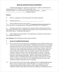 Intellectual Property Nda Template Interview Candidate Non Disclosure Agreement Create An Nda