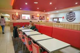 inside fast food restaurants.  Fast SAINT PETERSBURG RUSSIA  CIRCA SEPTEMBER 2017 Inside Burger King  Restaurant Inside Fast Food Restaurants A