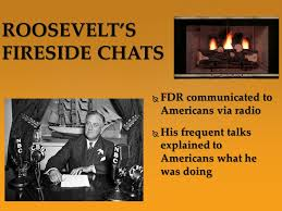 「roosevelt's fireside chats」の画像検索結果