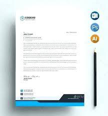 Business Letterhead Template Free Free Photoshop Letterhead Template