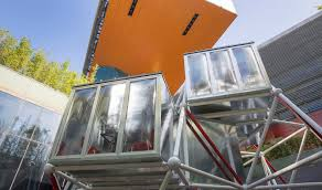 prefab office buildings cost. Plugin Tower Is A Low-cost Modular Home With No Foundation Prefab Office Buildings Cost