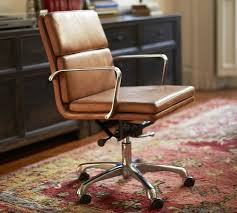 new home office chairs with swivel casters leather more crate and barrel jeannerapone com