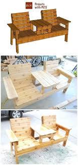 wooden beverage cooler personalized backyard bar