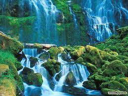 3d nature wallpaper-waterfall-wallpaper ...