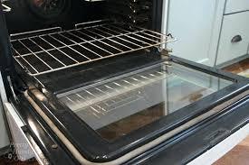 oven door how to clean inside your oven door pretty handy girl oven door seal oven door how to clean the inside
