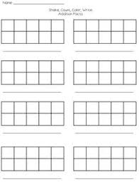 10 frame template free worksheets library download and print worksheets free on