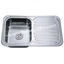 counter top stainless steel kitchen sink with drain board stainless steel sink bar sink 8048
