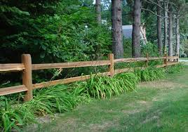 pictures of split rail fencing Split Rail Fence Pressure Treated