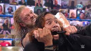 Video: Edge attacked Jimmy Uso on ...