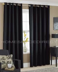 faux silk eyelet curtains silver red cream teal black purple brown new