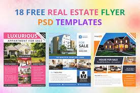 Real Estate Brochure Template Free 17 Free Real Estate Flyer Psd Templates Designyep