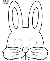 Small Picture Easter Bunny Face Templates Happy Easter 2017