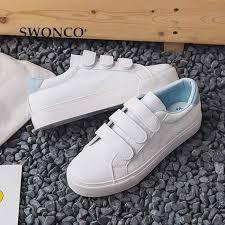 <b>SWONCO</b> Women's Vulcanize <b>Shoes Sneakers</b> Candy Color Hook ...