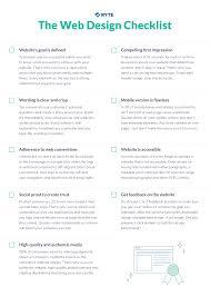 Web Design Checklist The Web Design Checklist Ryte Medium