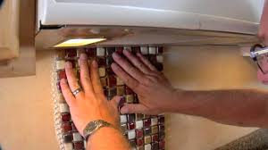 Small Picture TEC products How to Install Kitchen Backsplash YouTube